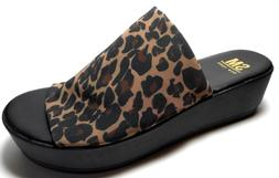 BRAND NEW SM NY By STEVE MADDEN Sizes 9 To 10M Leopard Print