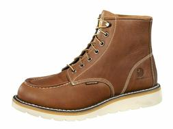 "Carhartt CMW 6275 Men's 6"" Steel Toe Wedge Boots Oil-Tanned"