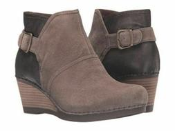 Dansko Comfort Women Shirley Suede ankle boots booties shoot