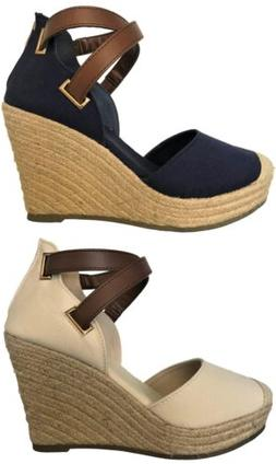 emery 1 women espadrille platform wedge cap