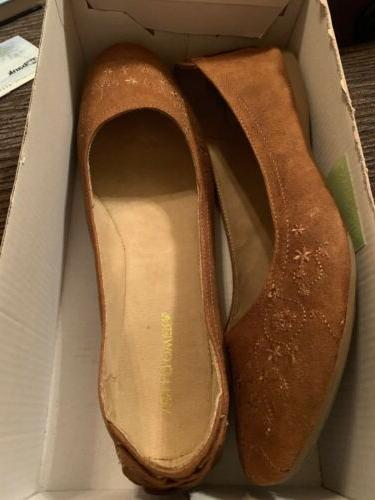 Wallflower Women's Flats Brown On Sz 11