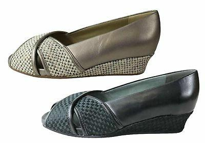 NEW HOMYPED BRADY WOMENS COMFORTABLE SUPPORTIVE WIDE WIDTH W