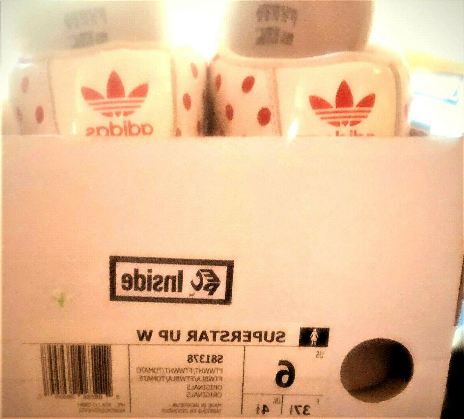 Adidas High White Polka Sneaker Shoes