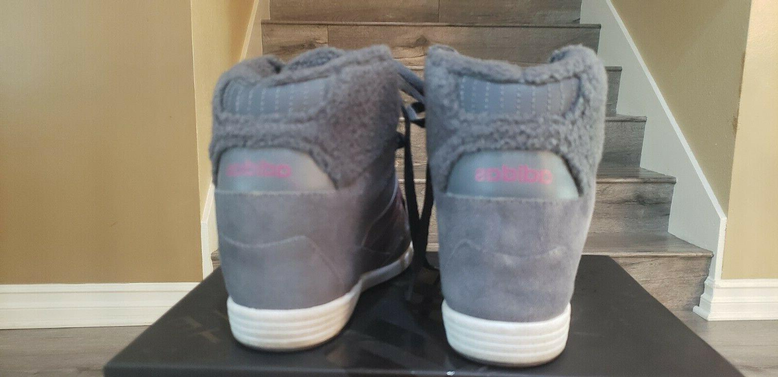 Adidas Supertop Gray Suede Stitching Lettering 6