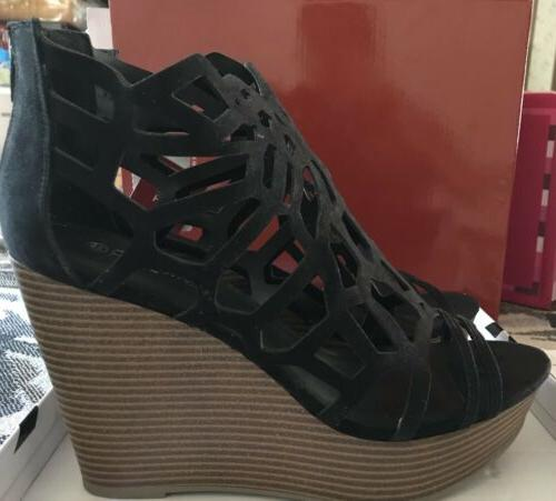 Hot Wedge,open Back Sandals For 10M.