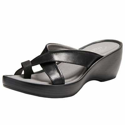willow casual wedges black womens