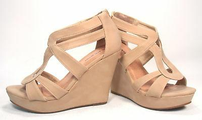 Women's Wedge Platform Toe Shoes 5 - 10 NEW