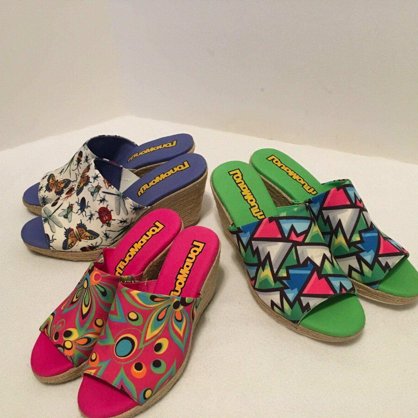 women s marlene wedge shoes pink psychedelic