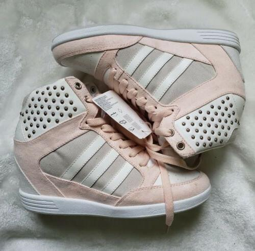 Women's Adidas Neo Wedge Suede Gold