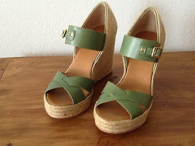 women s shoes wedge sandals in green