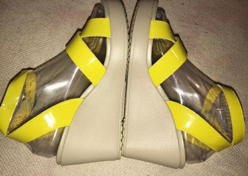Crocs Womens Leigh Adjustable Ankle Yellow