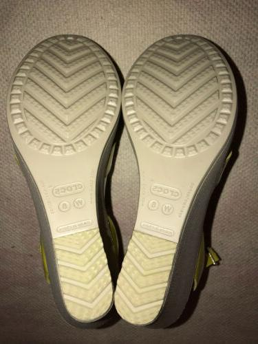 Crocs Womens Leigh Adjustable Ankle Strap