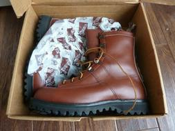 Danner Men's USA sz 10 Leather Boot Brown - Brand New with B
