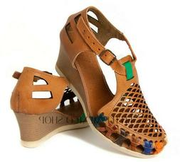 Mexican Sandals for Women WEDGE Huaraches Chedron Huarache S