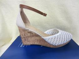 New Apt 9 Womens Jacques Size 9 Buckle Wedged Dress Shoes 3.