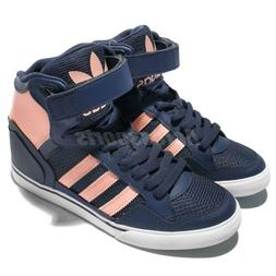 adidas Originals Extaball Up W Navy Pink Women Wedge Casual