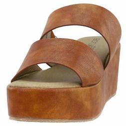 Corkys Shamrock  Casual   Wedges - Brown - Womens