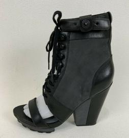 Timo Weiland for Tsubo Open Toe Platform Military Style Plat