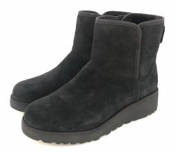 Ugg Classic Slim Collection Kristin Suede Black Short Wedge