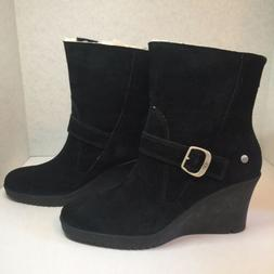 UGG Australia Women's Indra Insulated Wedge Boots Booties An