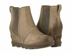 Sorel Women's Joan of Arctic Wedge II Chelsea Slip-On Bootie