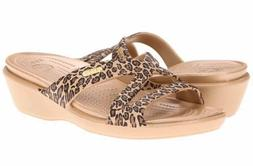 Women's Size 10 Patricia II Leopard Print Wedge New No Box