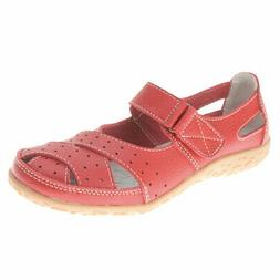 Women's Spring Step Streetwise Leather Sandals - Wide Width