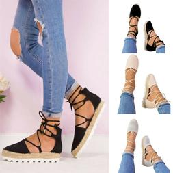 Womens Ladies Closed Toe Ankle Strap Wedge Sandals Low Flatf