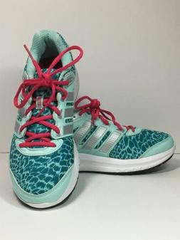 Adidas Womens  Sneakers Shoes Cloudfoam Teal Running Size 9