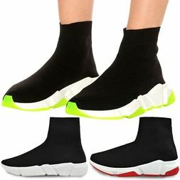 Womens Speed Sock Trainers Pull On Bali Sneakers Pumps Stret