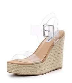Steve Madden Womens Splash Open Toe Casual Platform Sandals,